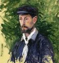 bust portrait of eugene lamy