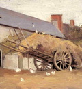 loaded haycart 1874