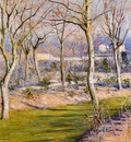the garden at petit gennevilliers in winter