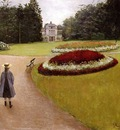 the park on the caillebotte property at yerres