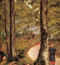 Yerres Soldiers in the Woods