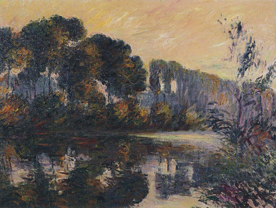 by the eure river