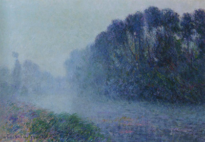 by the eure river mist effect