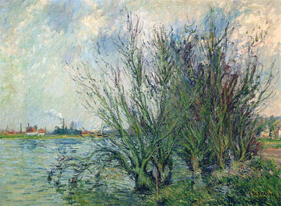 by the oise river