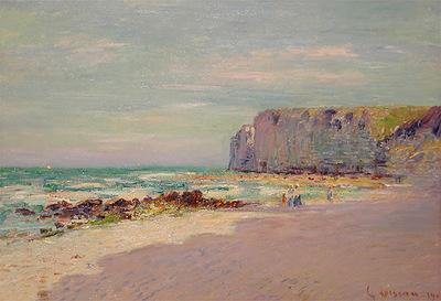 cliffs at petit dalles normandy