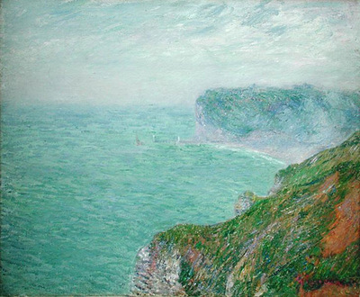 cliffs in normandy