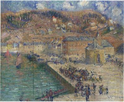 Grand Quay at Fecamp
