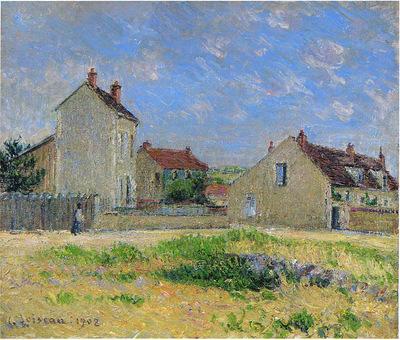 landscape near auxerre