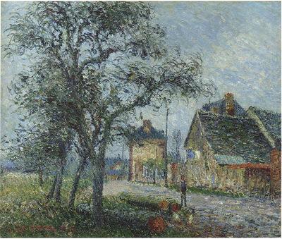 Louvier Road in Winter