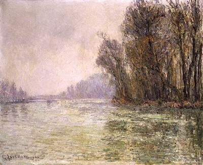 the oise in winter