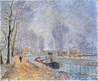 The Seine at Pontoise