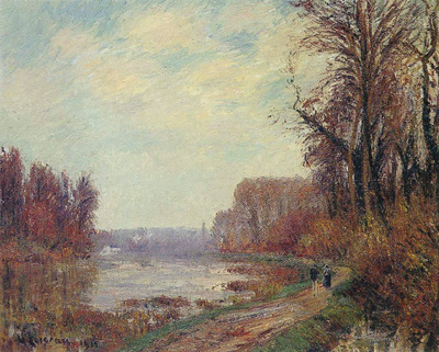 woods by the oise river