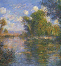 By the Eure River in Autumn