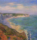 cliffs at fecamp in normandy