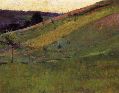 giverny hillside 1890