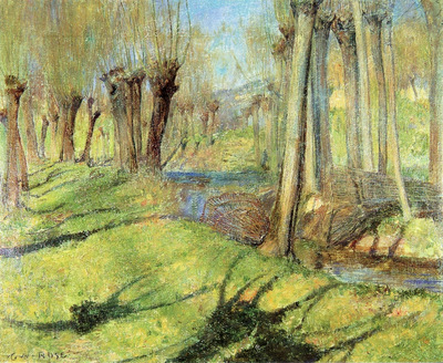 giverny willows 1890