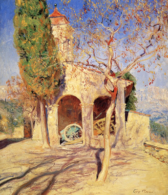 The Old Church at Cagnes