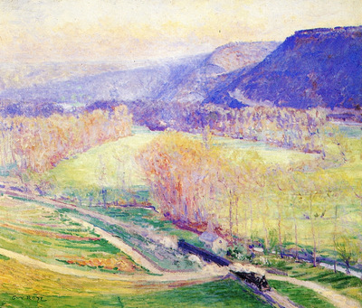 the valley of the seine