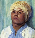 portrait of an algerian