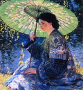 the green parasol