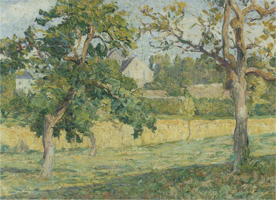 Landscape near Campagne