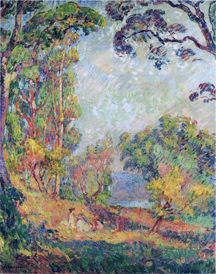 Landscape near Cannes
