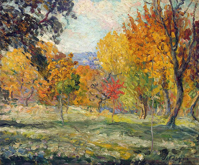 Lanscape with Trees