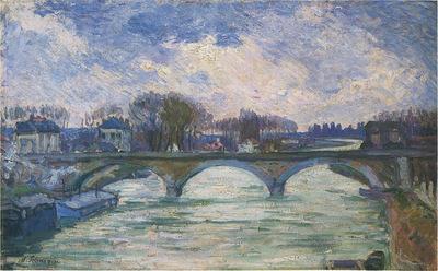 Le Pont sur le Marne