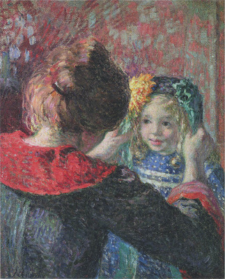 madame lebasque and her daughter marthe