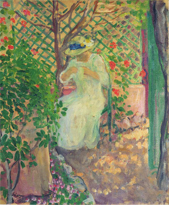 Marthe Lebasque in the Garden