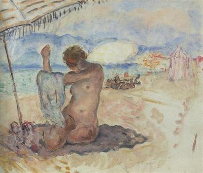 Nude on the Beach