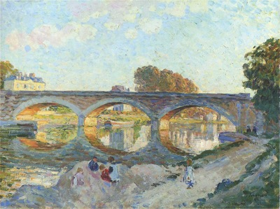 pont pierre at the lagny river