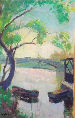 Riverbank and Boats