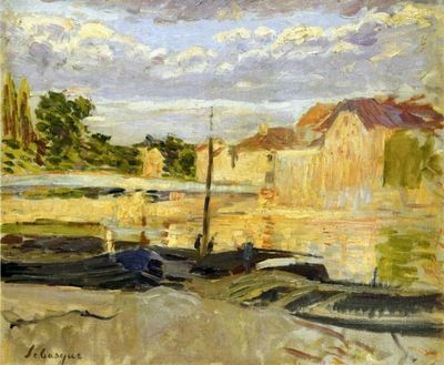 the banks of the marne at lagny