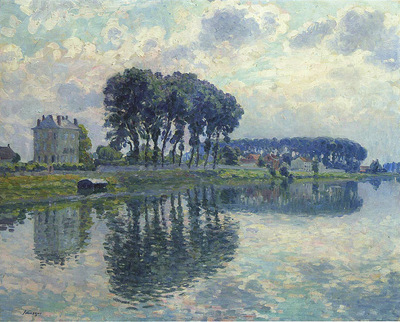 The Marne at Pomponne