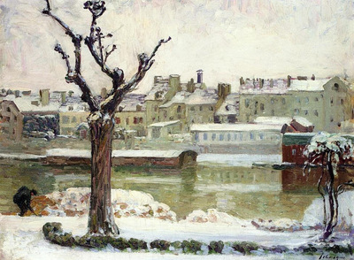 winter in lagny