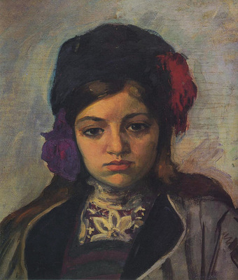 young child in a turban