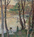 By the river Yaudet