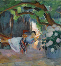 le pradet jeune femme au hamac