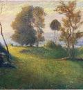 madame lebasque in a breton landscape