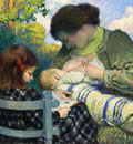 motherhood madame lebasque and her children