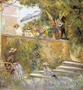 Nono and Madame Lebasque in the Garden