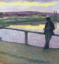 Sunset at Pont Aven