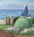 The Blue Sail at Prefailles