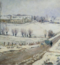the farm at lagny in winter