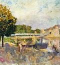 workers on the banks of the marne