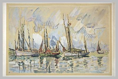 Bateaux de Peche a Lorient