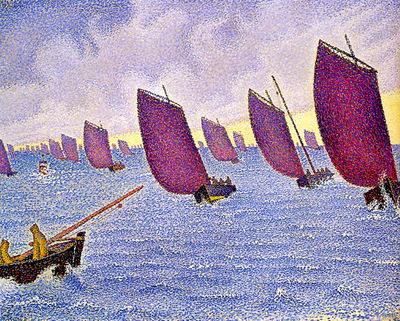 concarneau return of the longboats