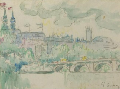 Paris the New Bridge