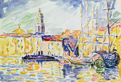 the harbour at saint tropez